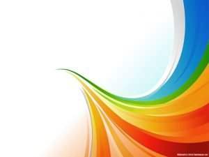 Rainbow Abstract PowerPoint Background