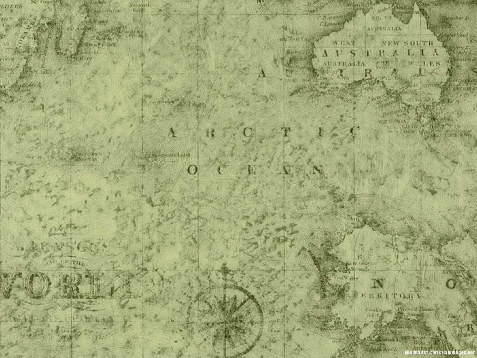 Antique Old Map Background