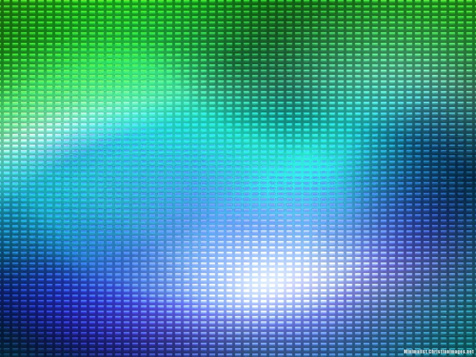 Blue Green Rectangle Textures Powerpoint Background