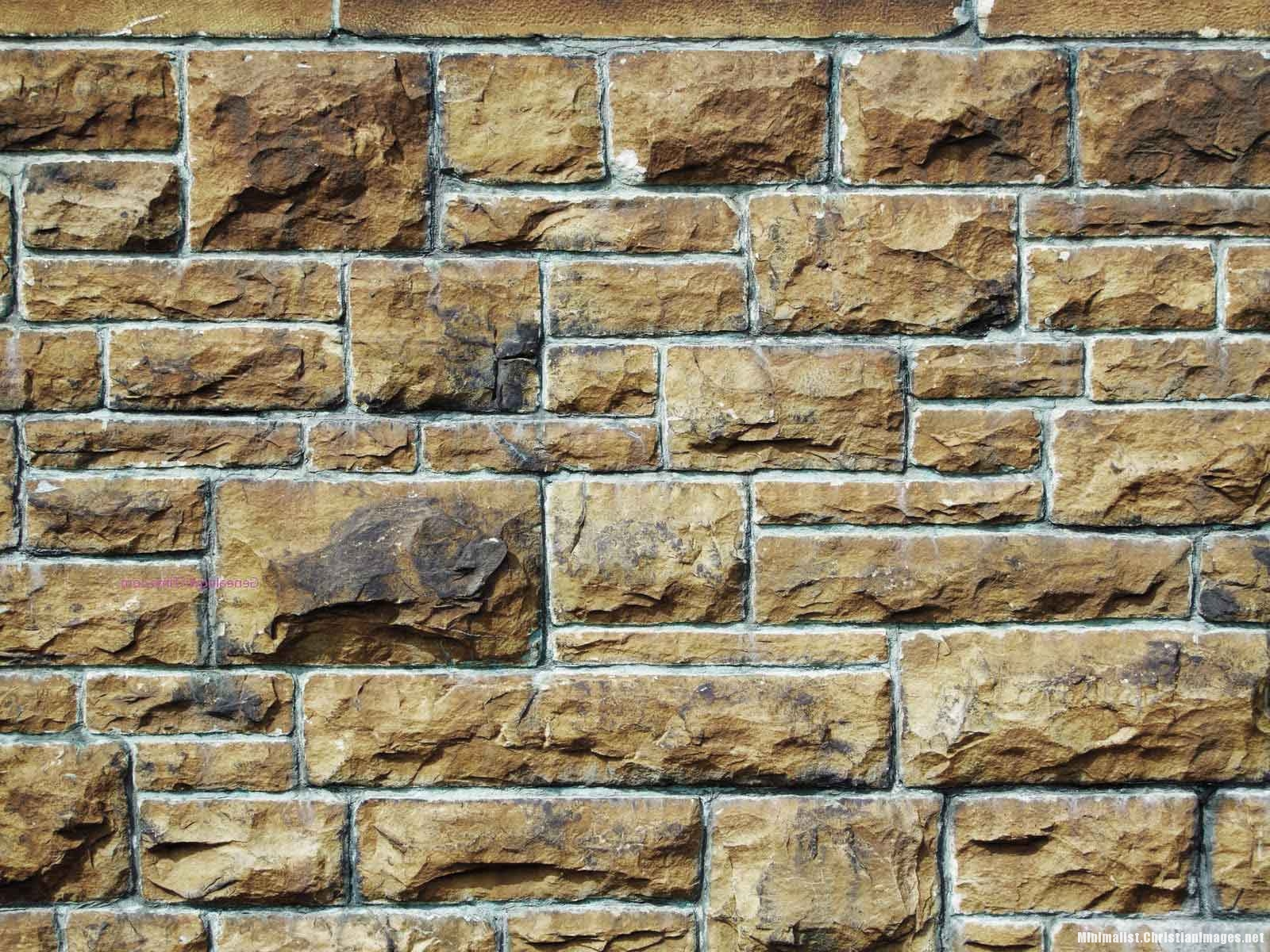 Brick Wall Template For Powerpoint