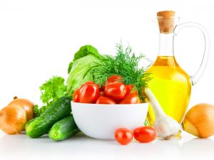 Healthy Food Powerpoint Background