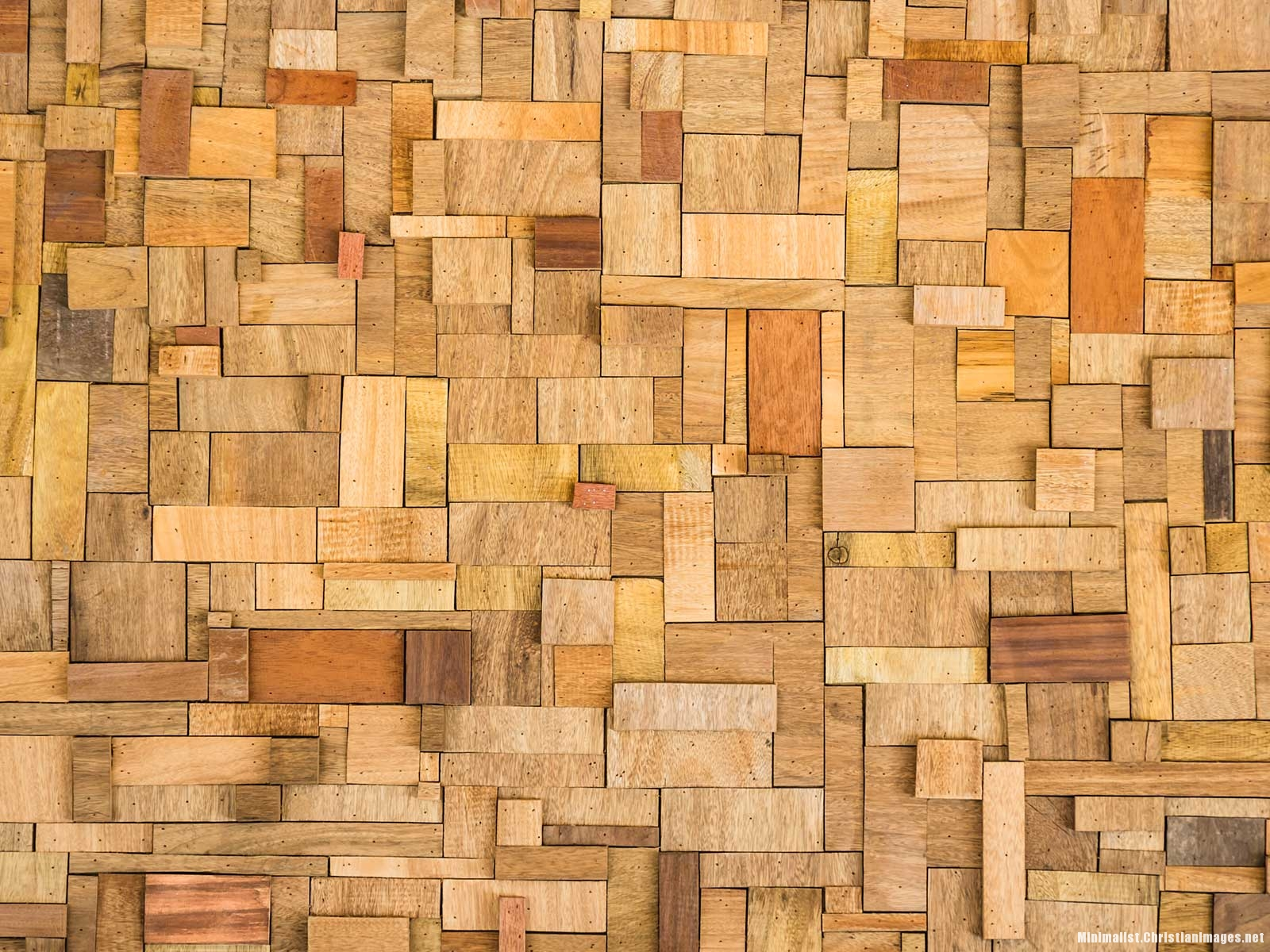 Wood Puzzle Blocks for Powerpoint Background